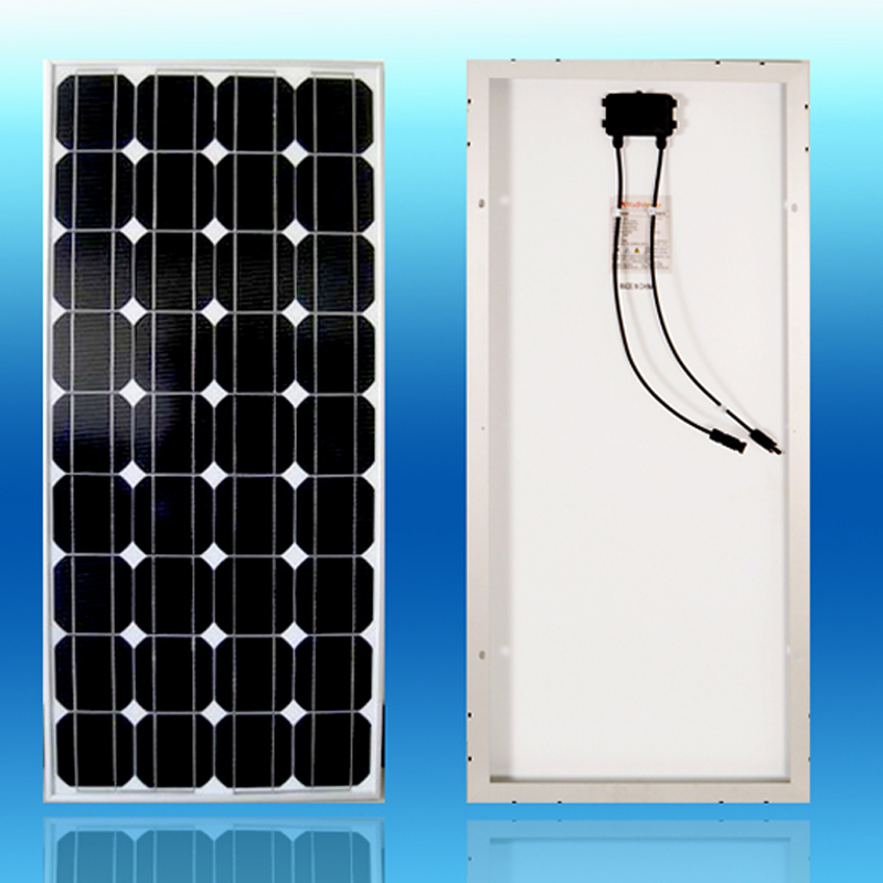 solar panel 100w 12 v monocrystalline solar cell fotovoltaico off grid solar power system waterproof cheap china solar panel(China (Mainland))