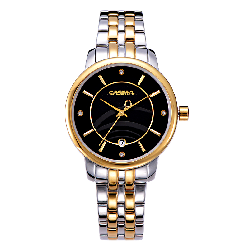 Buy luxury brand watches women hot fashion crystal leisure charm wrist watch for Casima watches