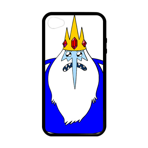 Cell Phone Case Reviews Adventure Time Ice King Case for iPhone 4/4s(China (Mainland))