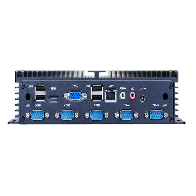 ATOM D2550 Fanless Embedded BOX PC With HDMI and WIFI(China (Mainland))