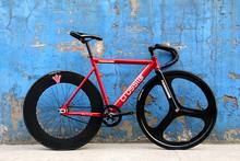 Crosstar Tyrans T2 Fixed Gear Bike Urban Track Bike Fixie Trispoke 3 Spoke Wheel 90mm RIM(China (Mainland))