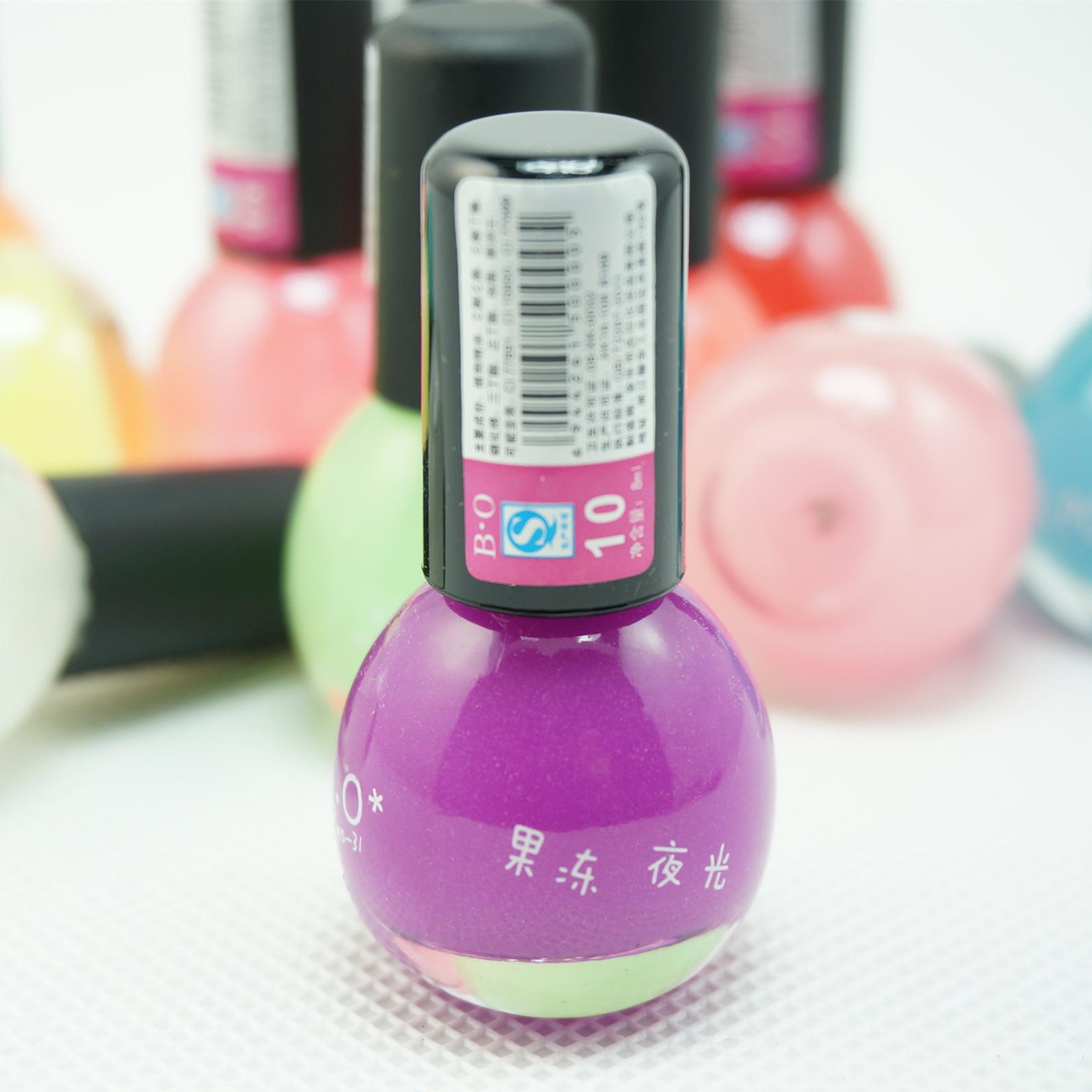 Candy Color Nail Polish: BO Wholesale Candy Color 12 Color Luminous Luminous Nail