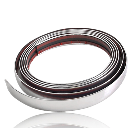 Car Chrome Styling Decoration Moulding Trim Strip 21mm for All Car Grill/Interior/Exterior()