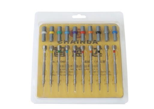 Высокая точность отвертки SE из 10 отверток комплект часы Jewlery инструменты для ремонта