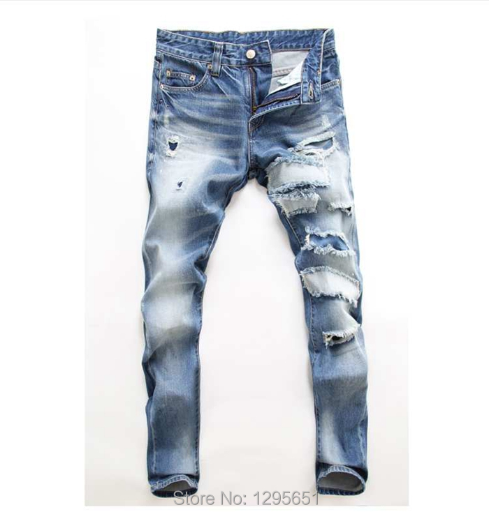 Suggestions Online | Images of Ripped Jeans For Men