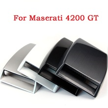 Car Decorative Air Flow Intake Hood Scoop Vent Bonnet Cover Fashion Styling Stickers Maserati 4200 GT - Shenzhen car world Store store