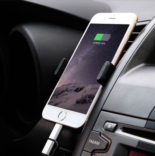 car phone holder for iphone 6 plus 5s universal CAR air vent mount mobile holder for samsung s6 edge S5 smartphone soporte movil(China (Mainland))