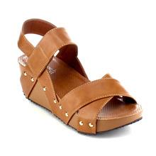 Women's Faux Leather Ankle Strap Hook & Loop Crossing Tied Slingback Ooen Peep Toe Platform Wedge Heel Sandals Shoes(China (Mainland))