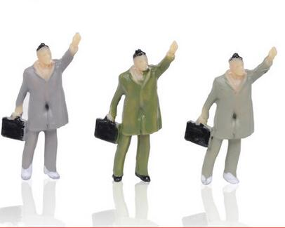 2016 popular scale figure layout model HO train(China (Mainland))
