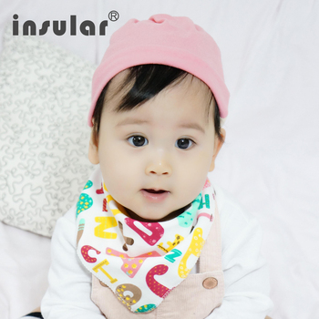New Arrival1pcs Newborn Baby Bibs Waterproof Bib Burp Cloth For Babies 100% Cotton Girls Boys Bib Babies Clothing