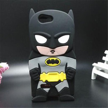 Cell phone bag 3D the first generation Heros Batman silicone cover case For ZTE Blade L2