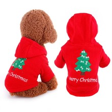 "Buy 2016 Dog Clothes small Dogs ""Merry Christmas"" Puppy Chihuahua Pet Coat Winter Clothing Red Hoodie Apparel ropa para perros for $5.99 in AliExpress store"