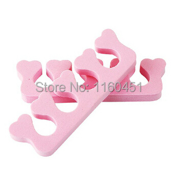 2pcs EVA Foam Toe Separator Soft Foam Nail Tools Toe Finger Separator Feet Care Braces & Supports Nails Art Tools(China (Mainland))