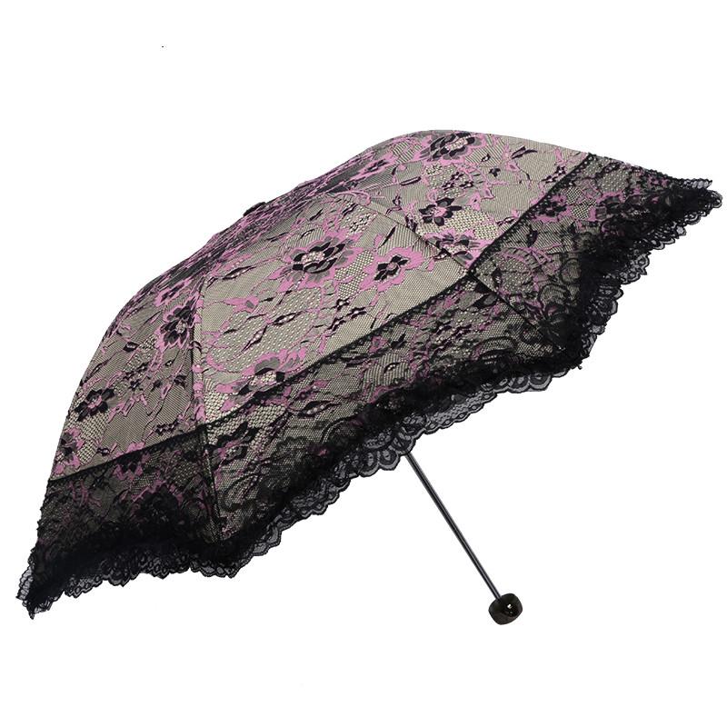Zwart kant paraplu promotie winkel voor promoties zwart kant paraplu op - Zon parasol ...