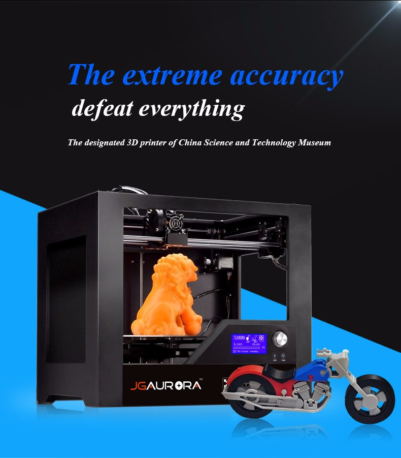 Create Your Own 3D Models by JGAURORA Z-603S 3D Printer