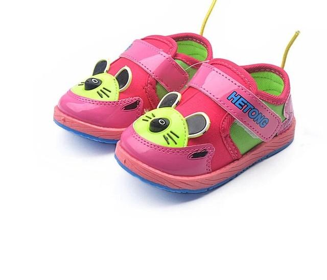 Бесплатная доставка весна осень резиновые мягкой подошвой детей девочек кроссовки ...