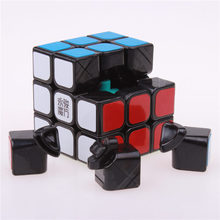 Original Moyu & YJ chilong Magic Speed Cube 3x3x3 Enhanced Edition 3 Layer Smooth Magic Cube Professional Competition Puzzle Cub(China (Mainland))