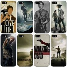 Buy walking dead Black Plastic Case Cover Shell iPhone Apple 4 4s 5 5s SE 5c 6 6s 7 Plus for $1.49 in AliExpress store