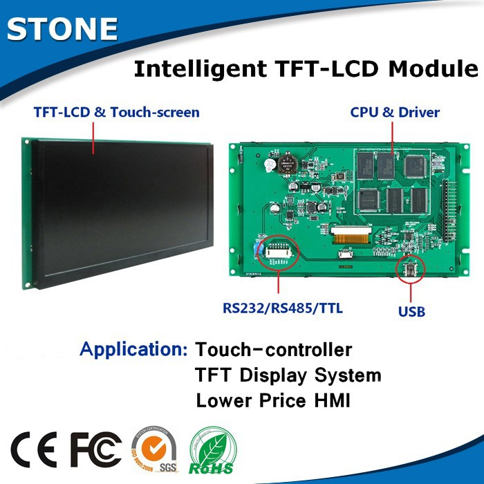 flexible display PCB module driver board 7 inch TFT LCD(China (Mainland))