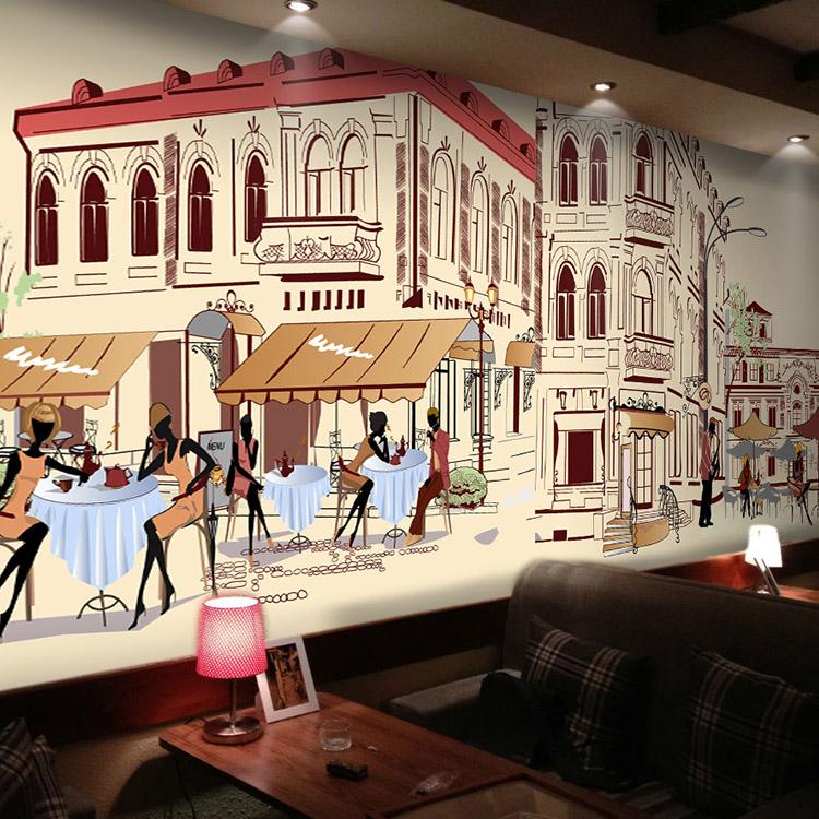 Restaurant architecture promotion shop for promotional for Mural restaurant