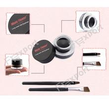 Best Seller 2 in 1 Brown Black Gel Eyeliner Make Up Free Shipping Waterproof Freeshipping Cosmetics