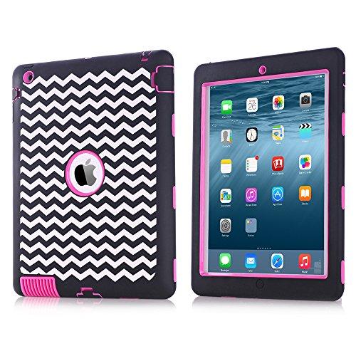Гаджет  Silicone Plastic 3 in 1 Hybrid Shockproof & Drop Resistance Anti-slip cover  for iPad Case iPad 2/3/4 Case None Изготовление под заказ