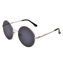 New Designer Vintage Metal Round Frame Sunglasses Big Women And Men's Stylish Sunglasses Cool Colored Eyewear Goggles UV 400