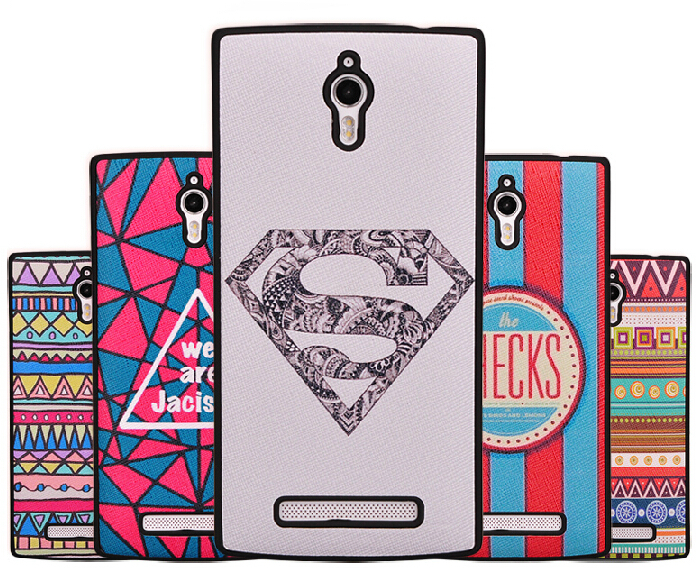 For oppo find 7 case free shipping.22 colors Top quality luxury matte PC stick PU leather cover for oppo find 7(China (Mainland))
