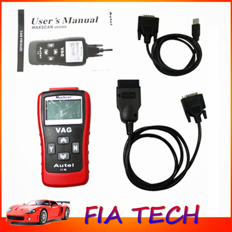 Autel MaxiScan VAG405 Car Diagnostic Code Readers & Scan Tool Auto Scanner OBD2 EOBD CAN BUS For VW Audi(China (Mainland))