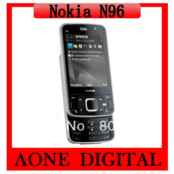 Original Refurbished Nokia N96 Wifi GPS 16GB Smart Mobile Phone(China (Mainland))