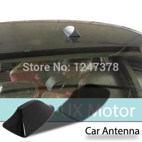 Auto Vehicle Truck Plastic Black Shark Fin Design Antenna Decoration for radio tv adapter base Discount 50(China (Mainland))