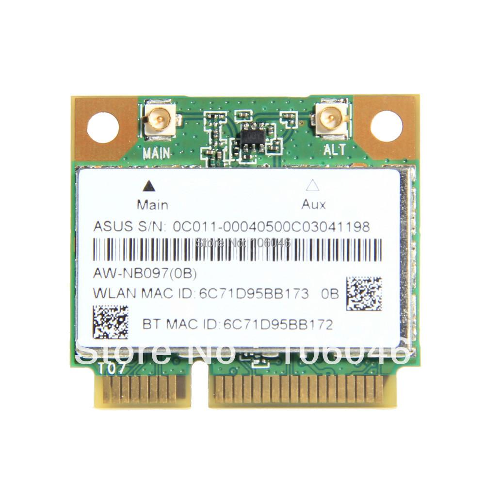 New Atheros AR5B225 WIFI Wireless Bluetooth 4.0 Half MINI PCI-E Card Better than 1030 6235 6230(China (Mainland))