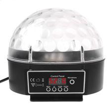 Горячая распродажа мини из светодиодов RGB кристалл магический шар эффект свет лампы DMX освещение сцены для DJ диско штрих-бальные ктв бар клуб
