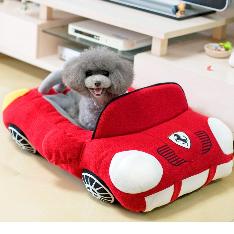 Fashion Car Shape Cat Bed Cat Sofa Pet Dog Bed Cushion Soft Mat Dog Puppy Kennel Furniture Doggie Kennel Pet Bed For Small Dogs(China (Mainland))