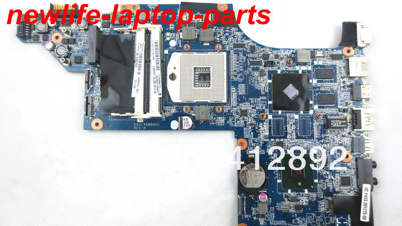 original for HP DV7 motherboard 605319-001 DA0LX6MB6H1 DDR3 maiboard 100% test fast ship(China (Mainland))
