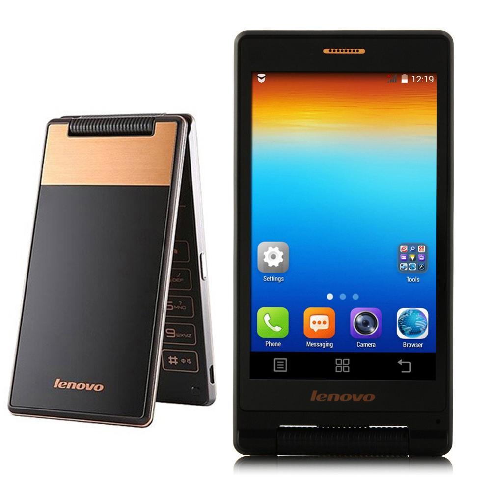 Original Lenovo A588T GSM Version MTK6582 Quad Core 1.3GHz 5.0MP 800*480Pixels 4GB ROM Elder phone(China (Mainland))
