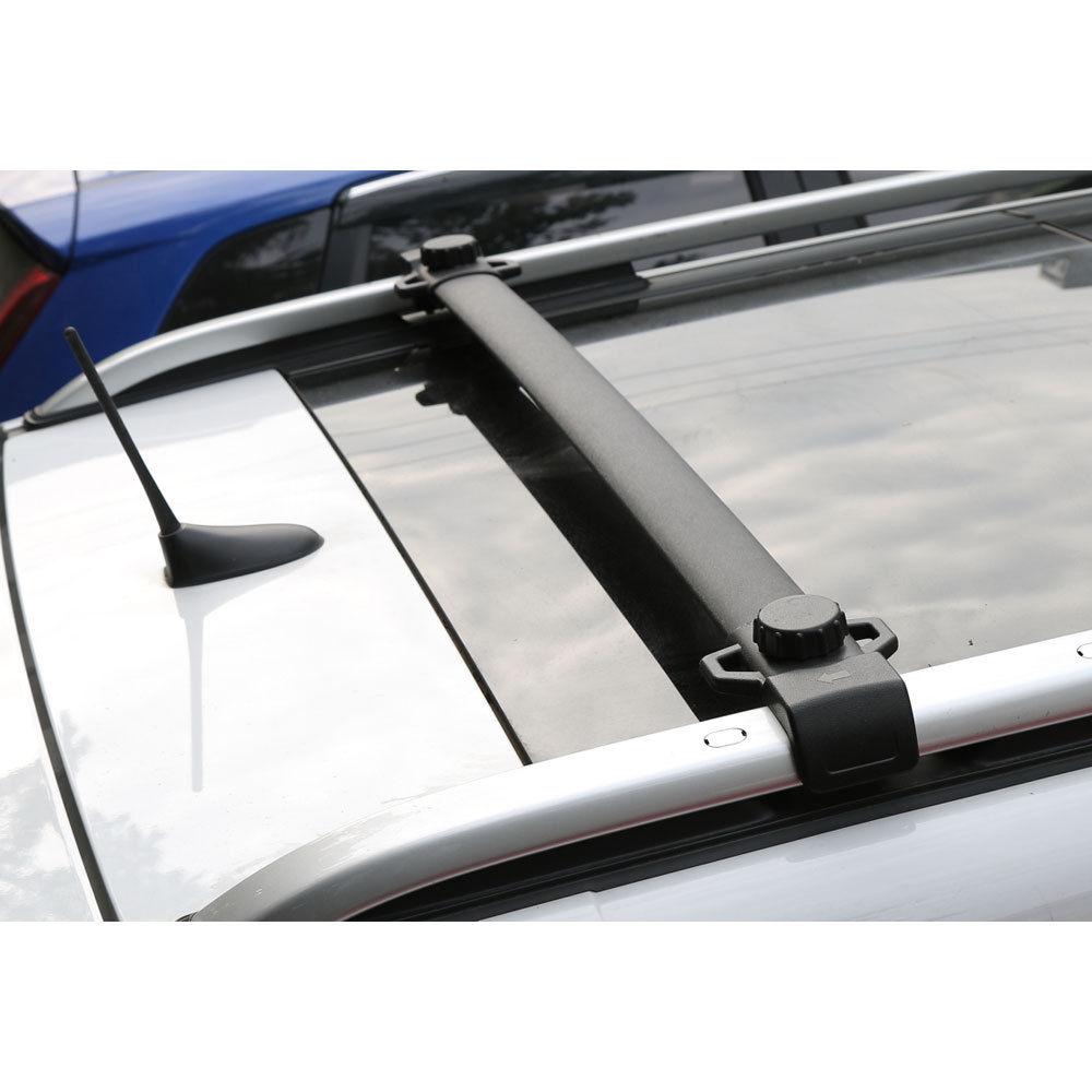 BBQ @ FUKA 2x Mobil Atap Rak Bagasi Bagasi Rel Cross Bar Crossbar Pembawa Fit Untuk Jeep Renegade 2015-2017 Mobil Sekongkol