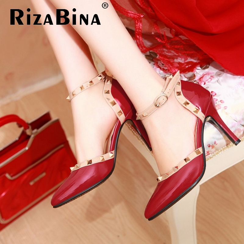 CooLcept free shipping thick high heel shoes buckle women sexy fashion lady platform pumps P11607 hot sale EUR size 31-41<br><br>Aliexpress