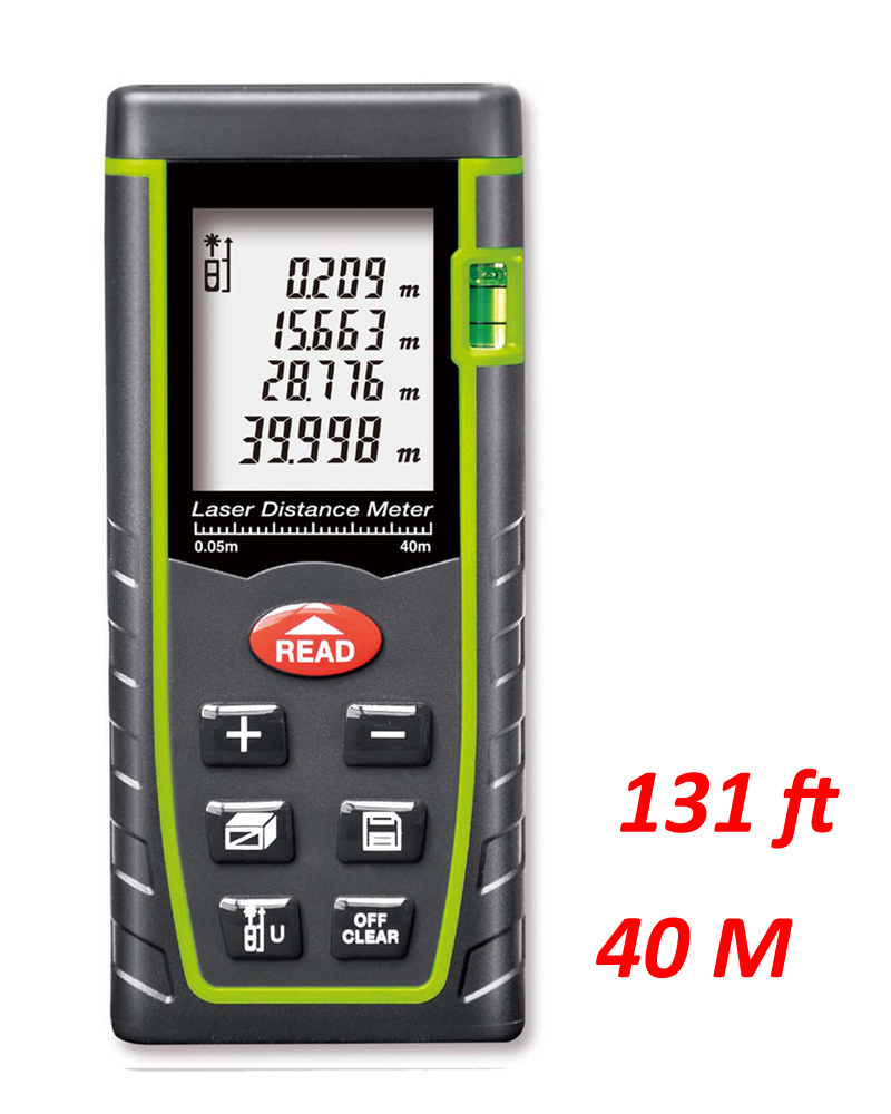 Handheld Laser Distance Meter 40M/60m/80m better than SW-M40 CP-40P infrared ruler Rangefinder Tape Measure Area/volume tool(China (Mainland))