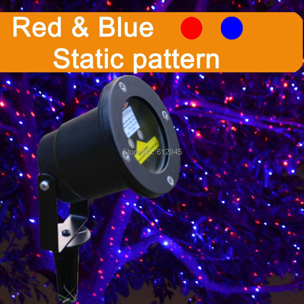 red blue outdoor laser christmas lights ip65 waterproof laser outdoor projection light hot. Black Bedroom Furniture Sets. Home Design Ideas