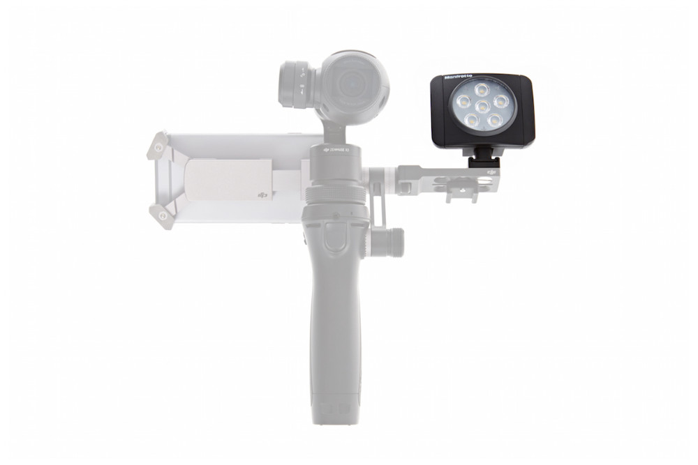 Original DJI Osmo Parts Osmo – Manfrotto Lumie Art LED Light With highly portable dimensions and robust aluminium construction