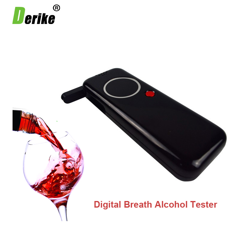 Hot Selling Professional Police Alcohol Tester Digital Breathalyzer Alcohol Breath Analyze Tester 8042(China (Mainland))