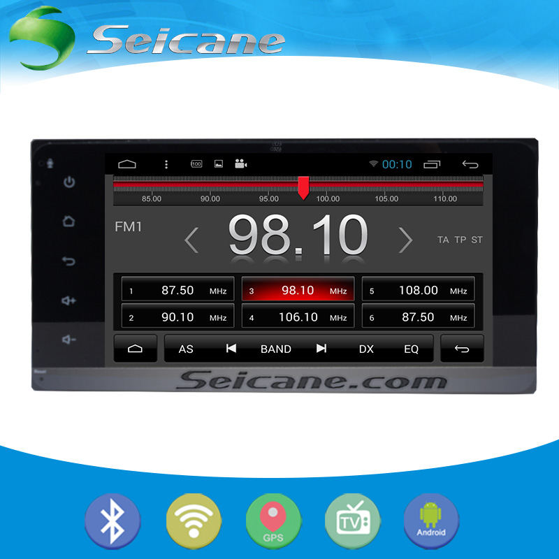 Seicane full touchscreen 7 Inch for 2001-2008 Toyota RAV4 Android 5.0.1 GPS Radio Bluetooth DVD Player HD Navigation CPU(China (Mainland))