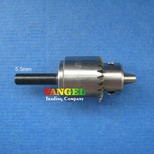 mini drill chuck 0 3 4mm JT0 high precision with 5 5mm Connecting rod diameter pcb