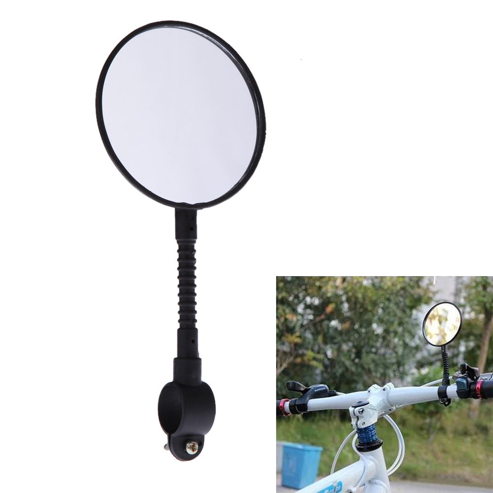 Shatterproof & High-strength ABS Mountain Road MTB Bike Bicycle Rear View Mirror Reflective Cycling Safety Flat Mirror(China (Mainland))