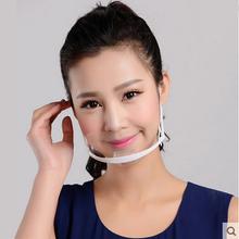 2015 hot!10pcs A transparent masks Factory price permanent anti fog catering Food Hotel plastic kitchen restaurant masks #01(China (Mainland))