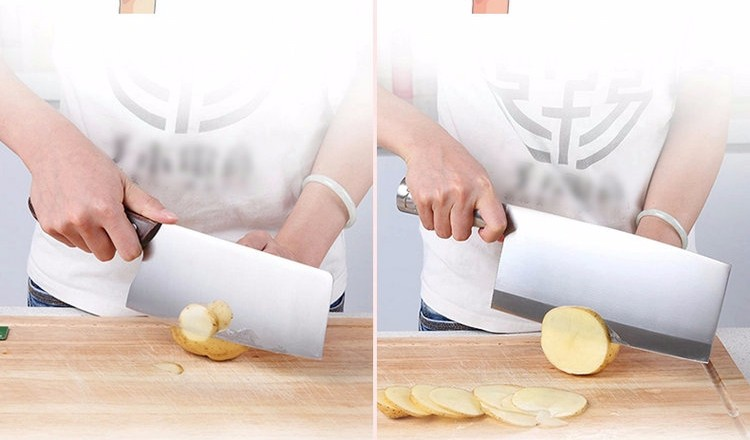Buy 2016 8'' Stainless Steel Damascus Steel Kitchen Chef Knife multifunctional Janpanese Fruit Vegetables Knives Cleaver Knife cheap