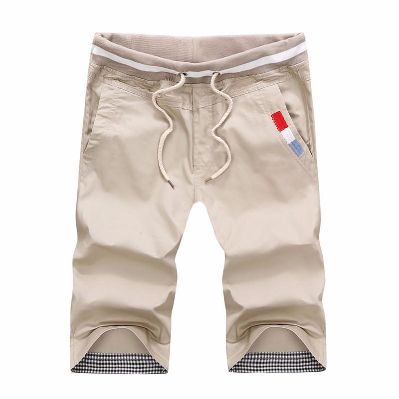 shorts men Rice white