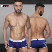2016 new style pattern printed boxers men cueca for summer M-XXL underwear men Comfortable sexy shorts men ST507(China (Mainland))