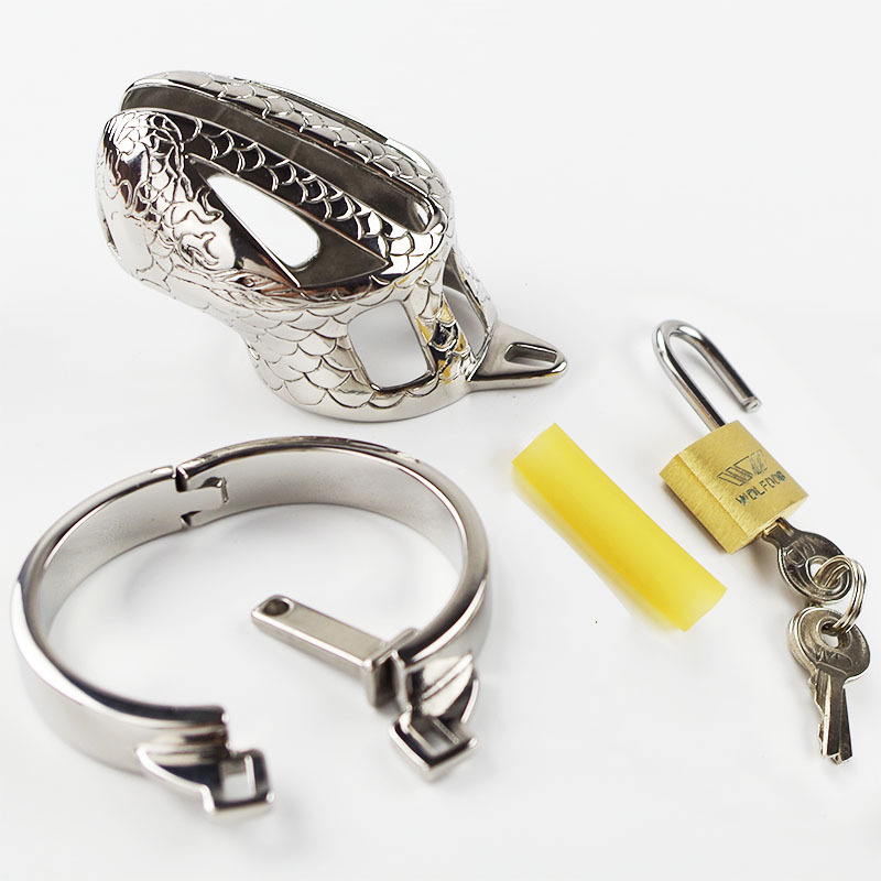 2015 New Arrive Male Chastity Belt Stainless Steel Slave Penis Restraint Devices<br><br>Aliexpress